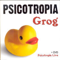 Psicotropia - Grog CD (album) cover