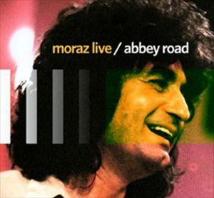 Patrick Moraz - moraz live / abbey road CD (album) cover