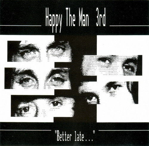 Happy The Man - Better Late... CD (album) cover