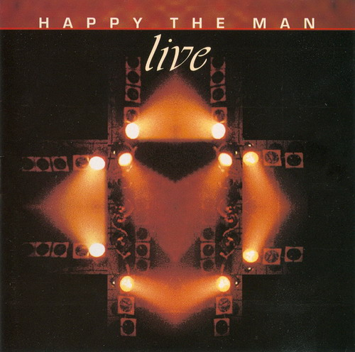 Happy The Man Live album cover