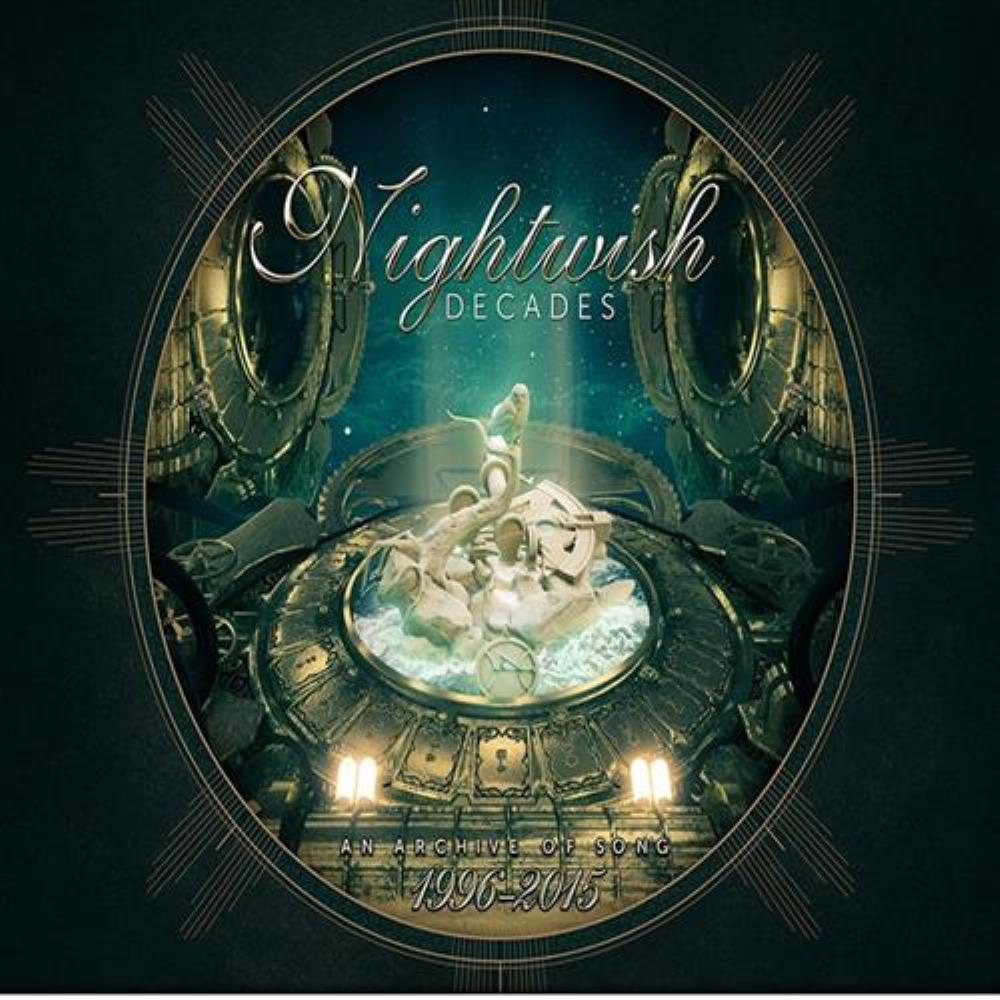 Nightwish Decades album cover