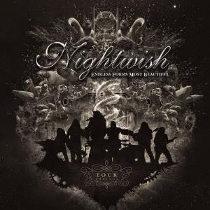Nightwish Endless forms most beautiful TOUR EDITION album cover