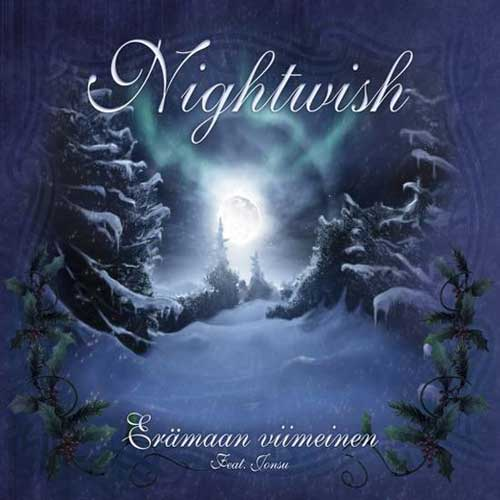 Nightwish Erämaan viimeinen album cover