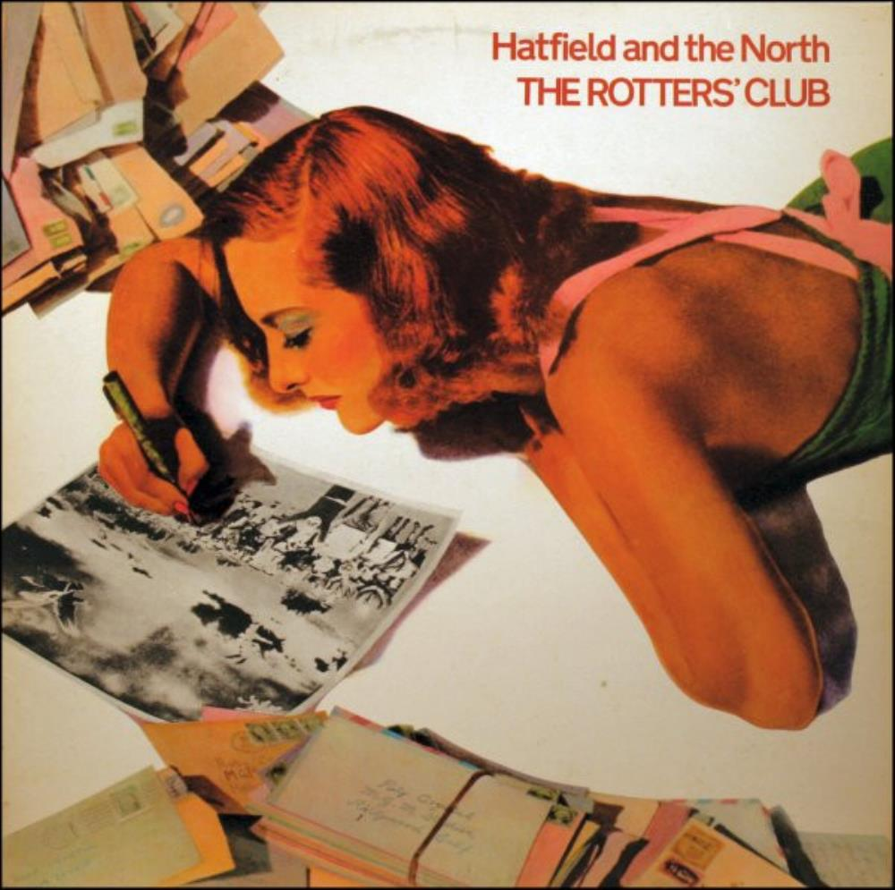 The Rotters' Club by HATFIELD AND THE NORTH album cover