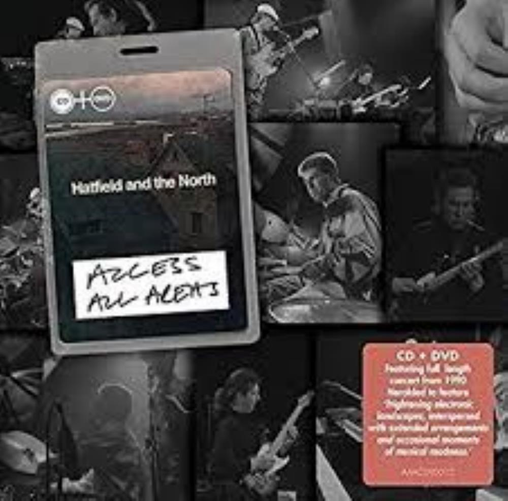 Access All Areas by HATFIELD AND THE NORTH album cover