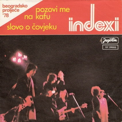 Indexi Pozovi me na kafu album cover
