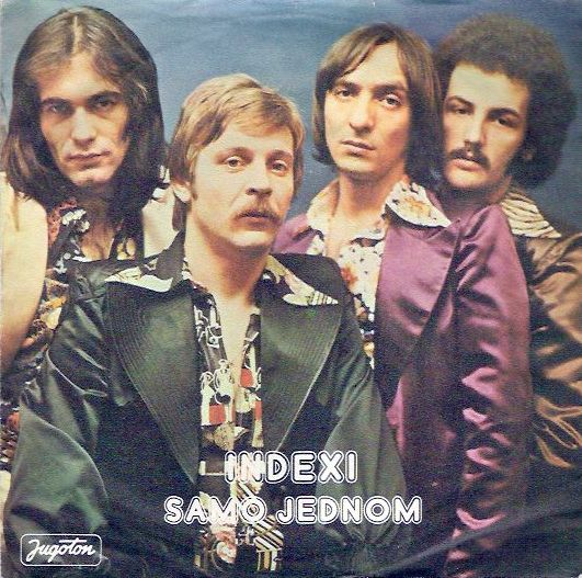 Indexi Samo jednom album cover