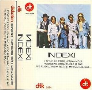 Indexi Indexi (MC Diskoton) album cover