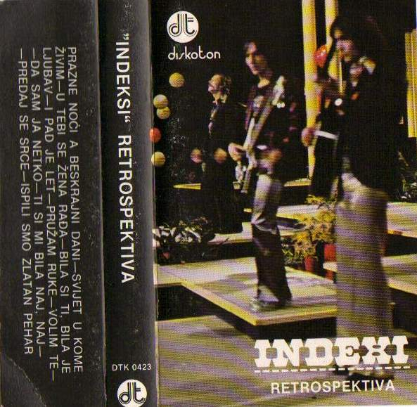 Indexi - Retrospektiva CD (album) cover