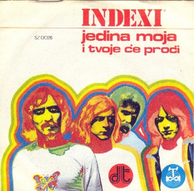 Indexi Jedina moja album cover