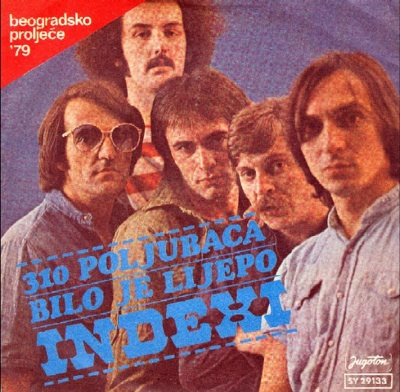Indexi 310 poljubaca album cover