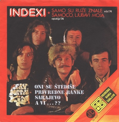 Indexi Samo su ruze znale album cover