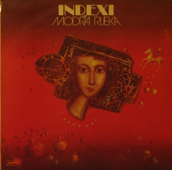 Indexi - Modra Rijeka CD (album) cover