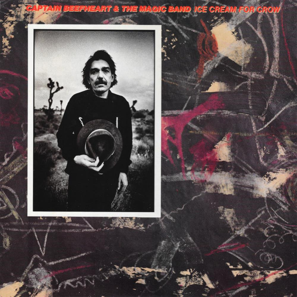 Captain Beefheart - Ice Cream For Crow CD (album) cover