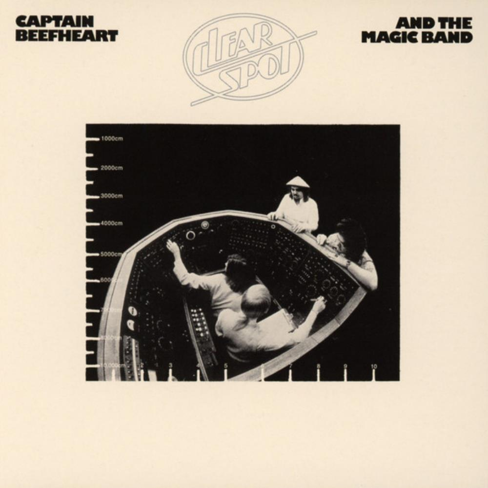 Captain Beefheart - Clear Spot CD (album) cover