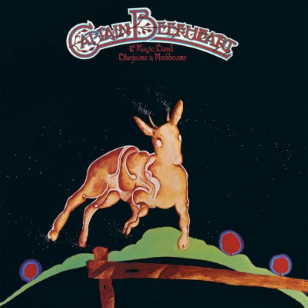 Captain Beefheart - Bluejeans & Moonbeams CD (album) cover
