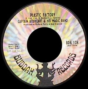 Captain Beefheart Plastic Factory album cover