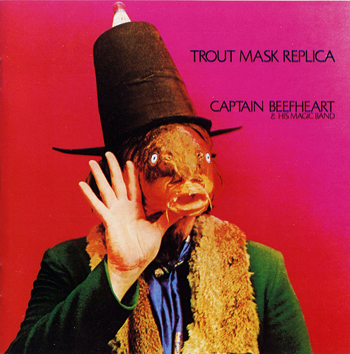 Captain Beefheart - Trout Mask Replica CD (album) cover