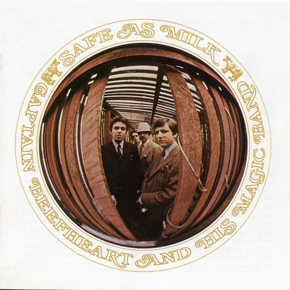 Safe As Milk by CAPTAIN BEEFHEART album cover