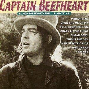 Captain Beefheart London 1974  album cover