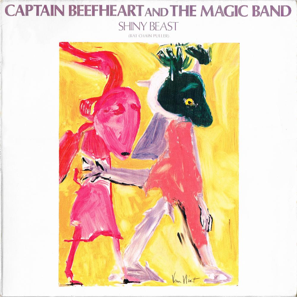 Captain Beefheart - Shiny Beast (Bat Chain Puller) CD (album) cover