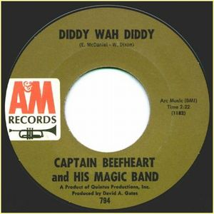 Captain Beefheart Diddy Wah Diddy album cover