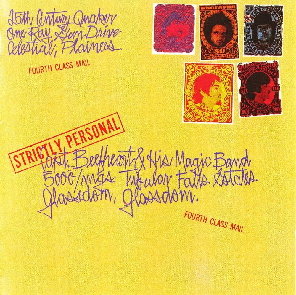 Captain Beefheart - Strictly Personal CD (album) cover