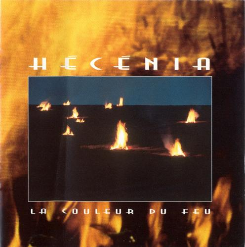 La Couleur du Feu by HECENIA album cover