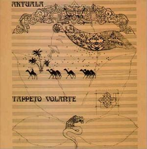 Aktuala - Tappeto Volante CD (album) cover