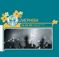 Phish 04.05.98 Providence Civic Center, Providence, RI album cover