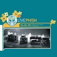 Phish 04.04.98 album cover
