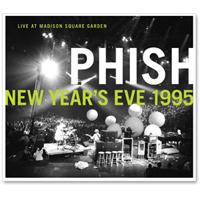 Live In Madison Square Garden-New Year's Eve 1995 by PHISH album cover