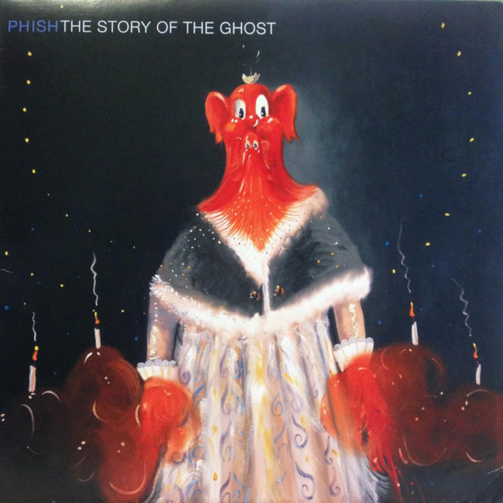 The Story Of The Ghost by PHISH album cover