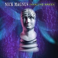 Nick Magnus - Inhaling Green CD (album) cover