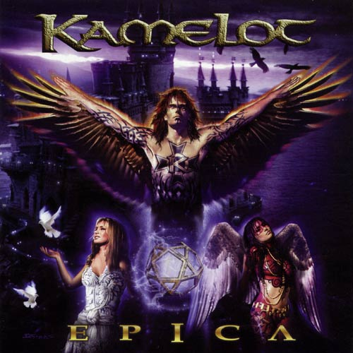 Kamelot - Epica CD (album) cover