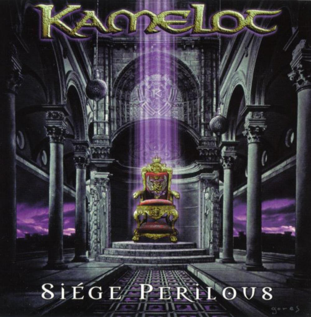 Siége Perilous by KAMELOT album cover