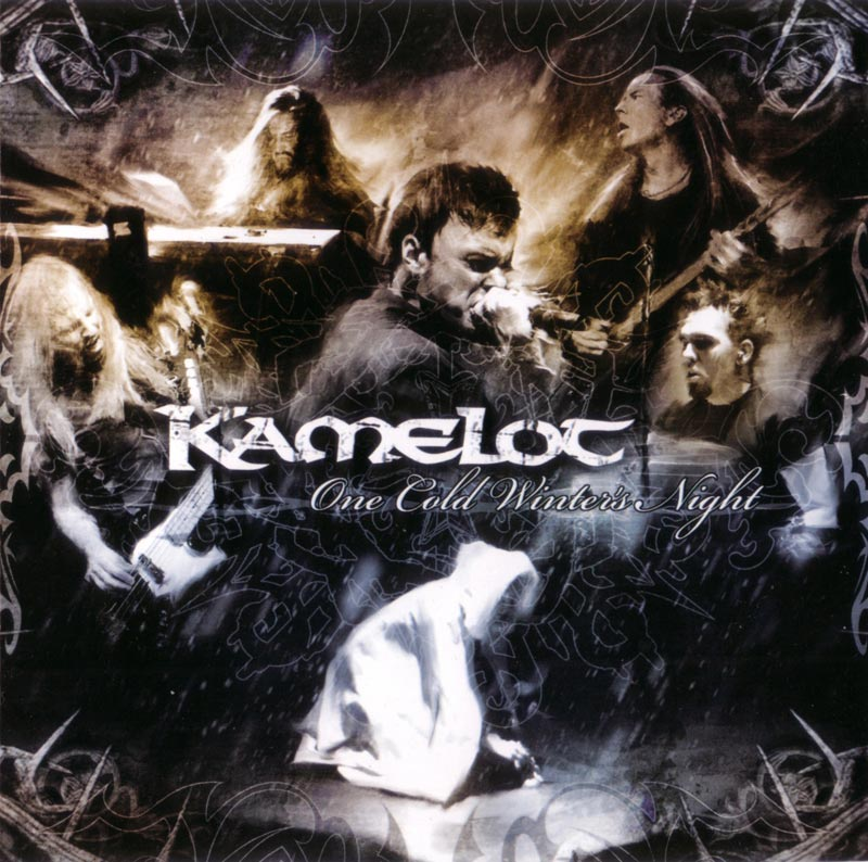 Kamelot - One Cold Winter's Night CD (album) cover