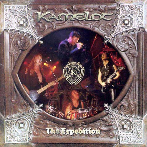 The Expedition  by KAMELOT album cover