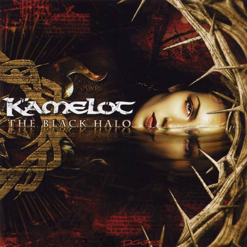 Kamelot - The Black Halo CD (album) cover