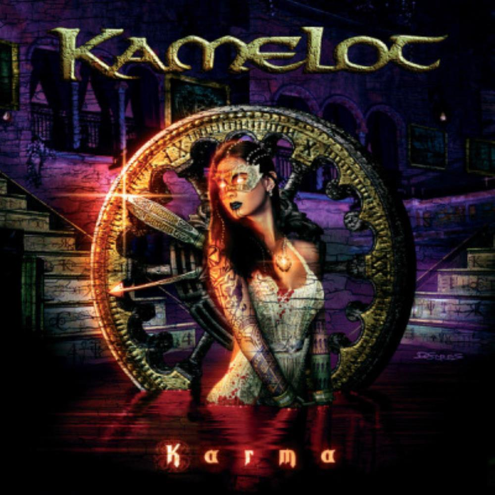 Karma by KAMELOT album cover