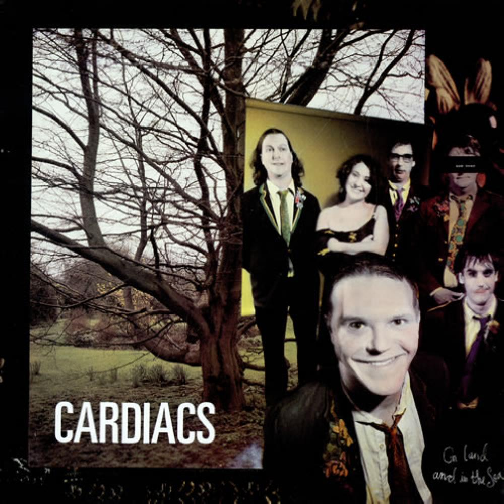 On Land And In The Sea by CARDIACS album cover