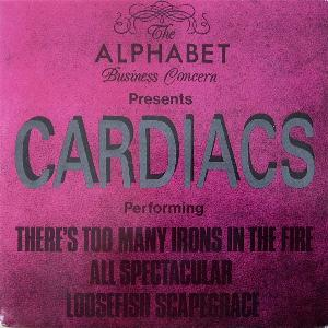 Cardiacs There's Too Many Irons In The Fire album cover
