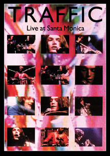 Traffic - Live at Santa Monica  CD (album) cover