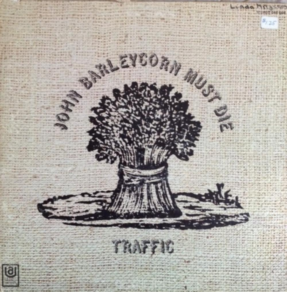 John Barleycorn Must Die by TRAFFIC album cover