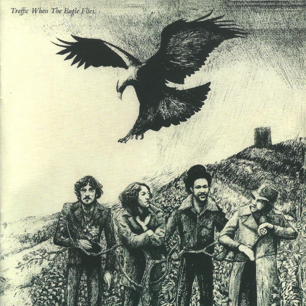 When The Eagle Flies by TRAFFIC album cover