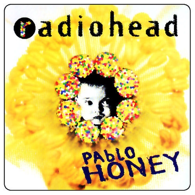 Radiohead Pablo Honey album cover
