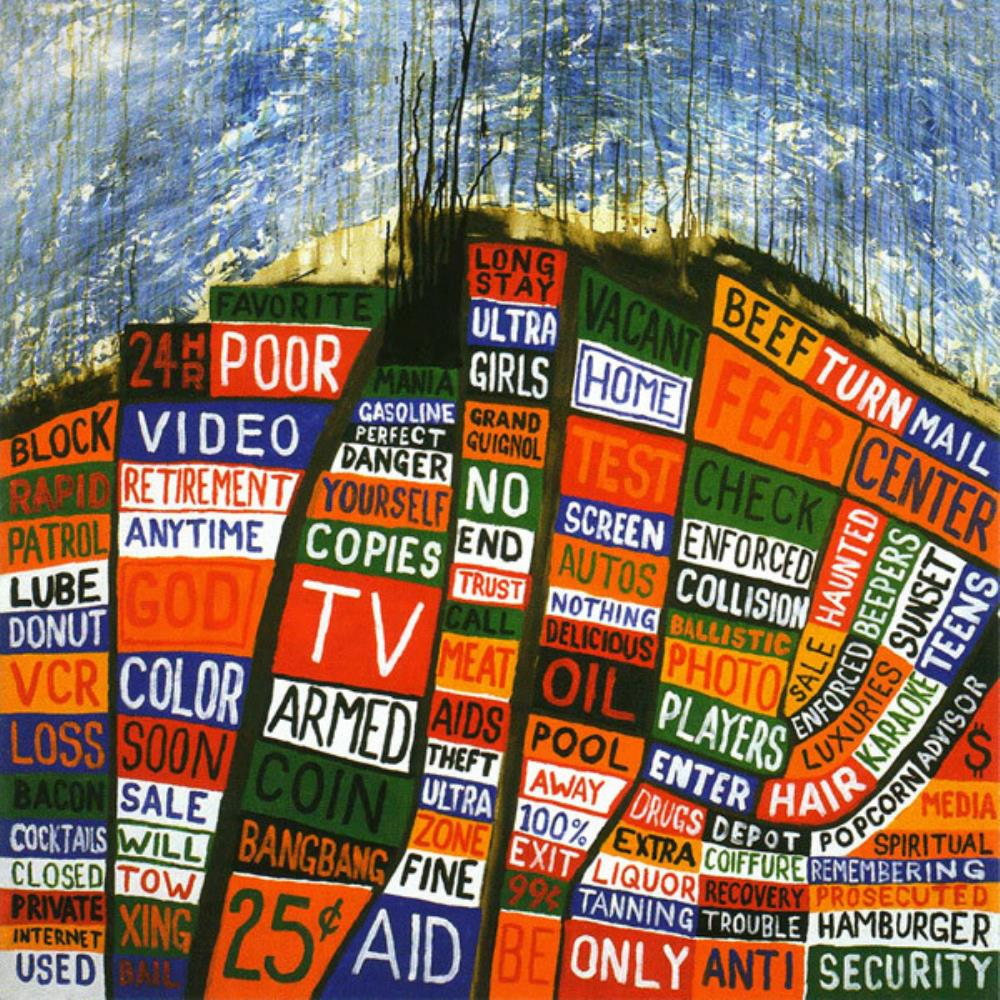 Hail To The Thief by RADIOHEAD album cover