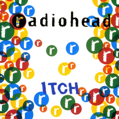 Radiohead Itch album cover