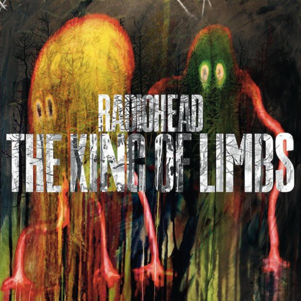 Radiohead The King Of Limbs album cover