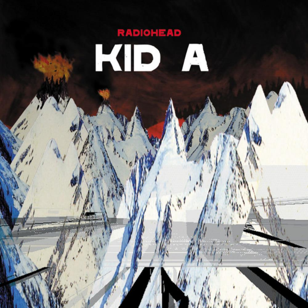 Radiohead Kid A album cover